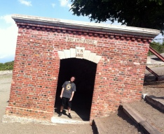 The giddy house @ Fort Charles, Port Royal.